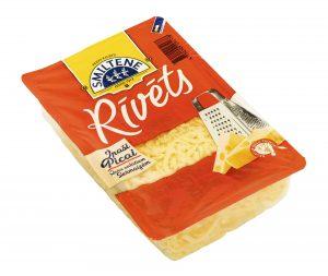 Rīvēts siers puscietais (fasēts)