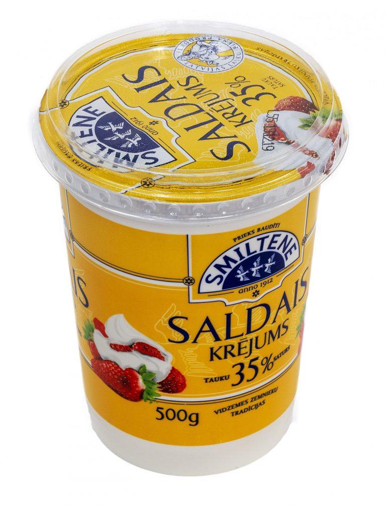 Saldais krējums 35% (fasēts)