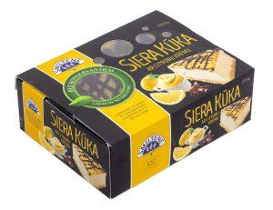 Smiltenes siera kūka ar citronu krēmu