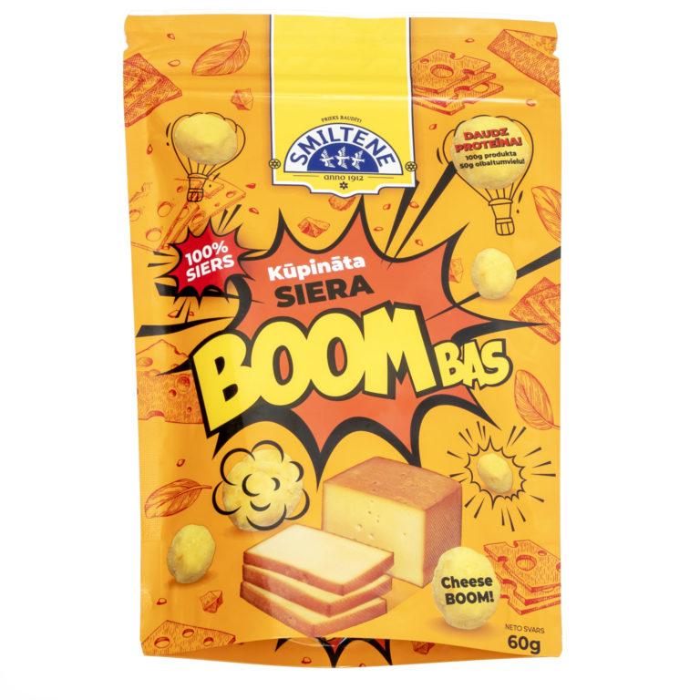 SIERA BOOMBAS Kūpināta siera